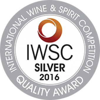 IWSC Silver Medal 2016