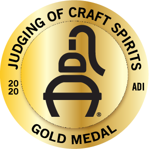 Judging of Craft Spirits Gold Medal 2020